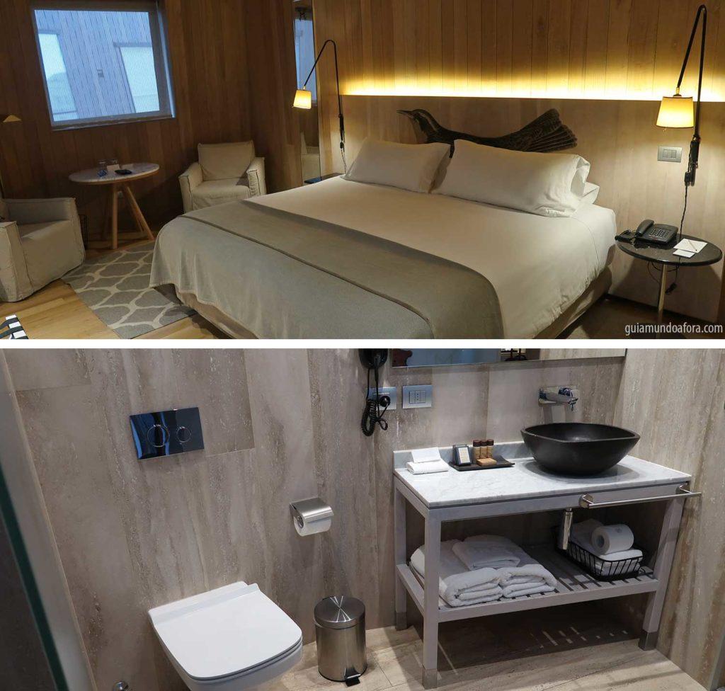 quarto hotel magnolia santiago