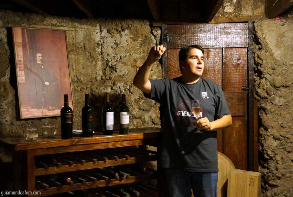 mini curso de vinhos em Santiago