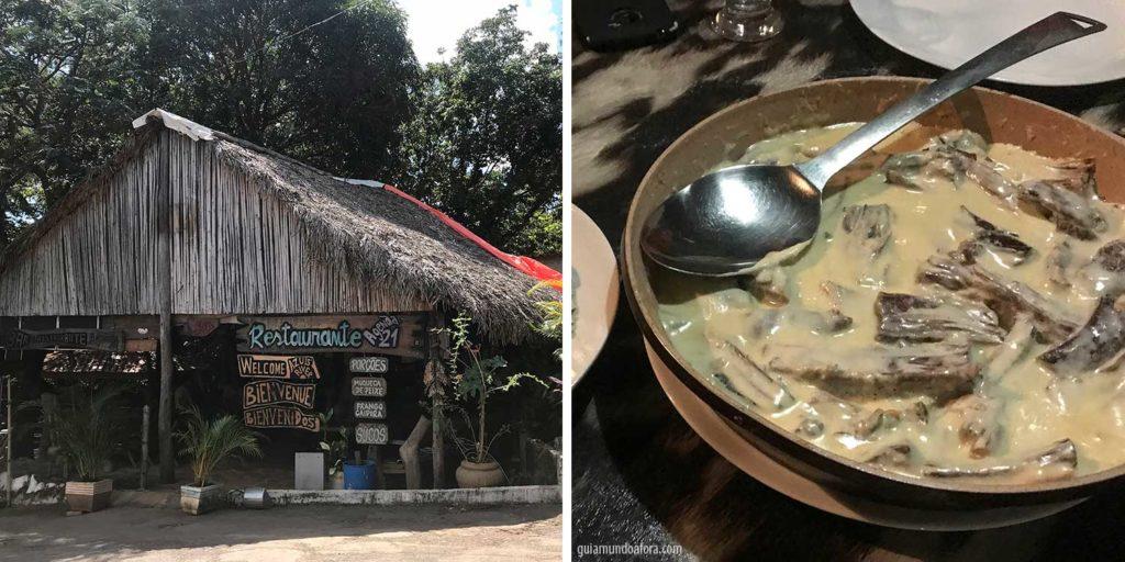 onde comer em Azuis Serras Gerais