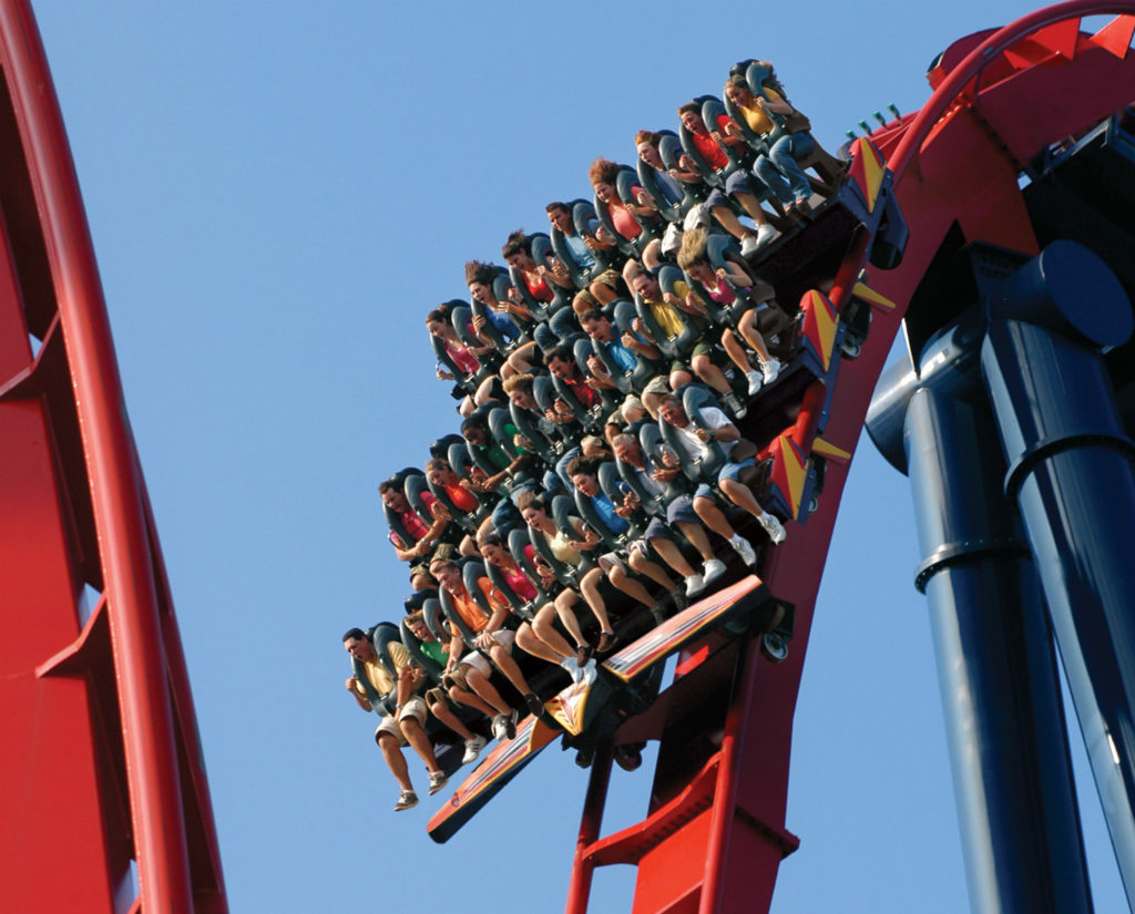 Sheikra montanha-russa Busch Gardens Tampa