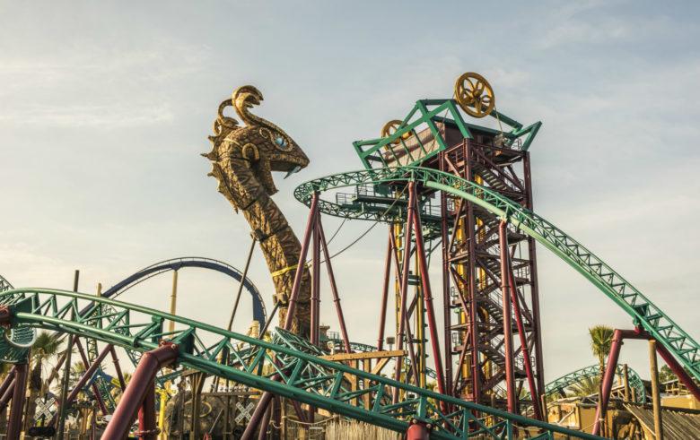 Cobras's Curse montanha russa família Busch Gardens