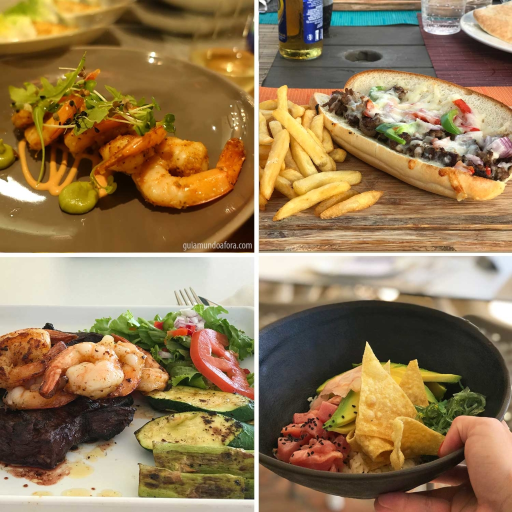 comidas hotel all inclusive st maarten