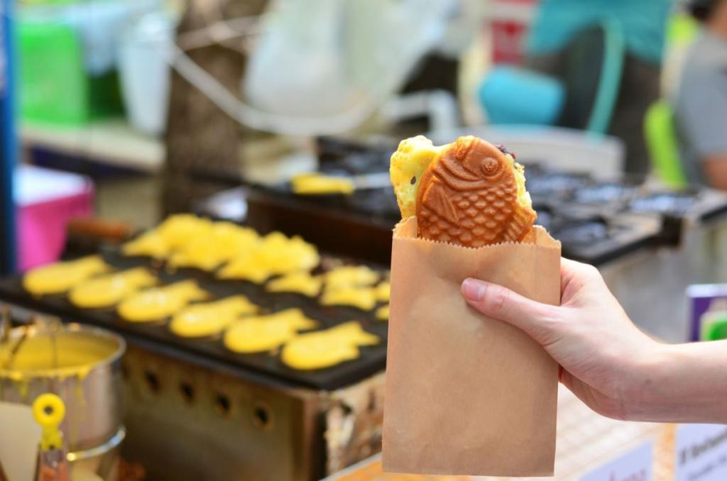 taiyaki comida japonesa