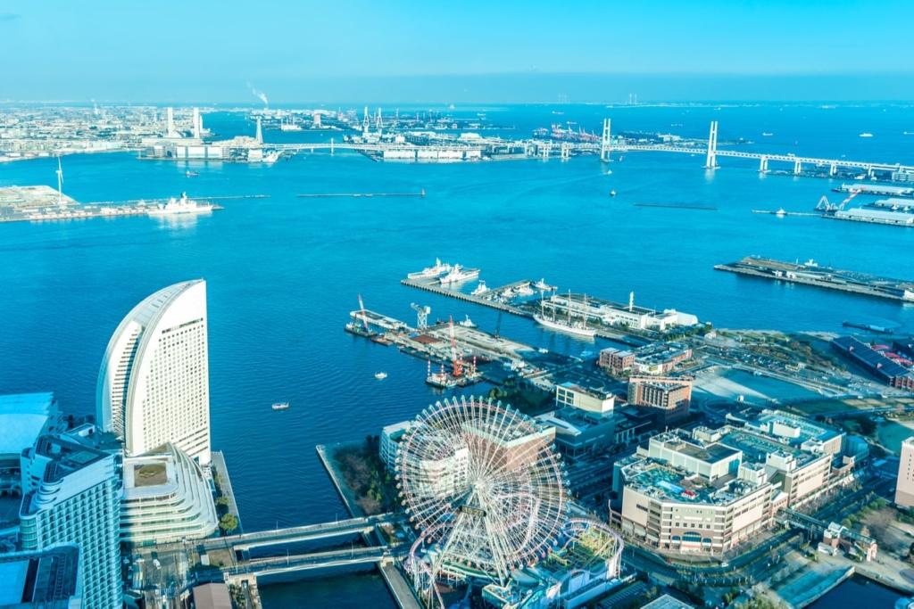 cidades no Japão Yokohama