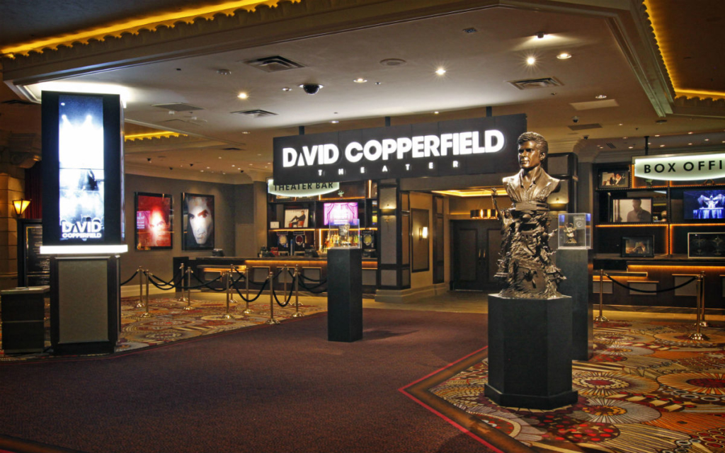 David copperfierld las vegas