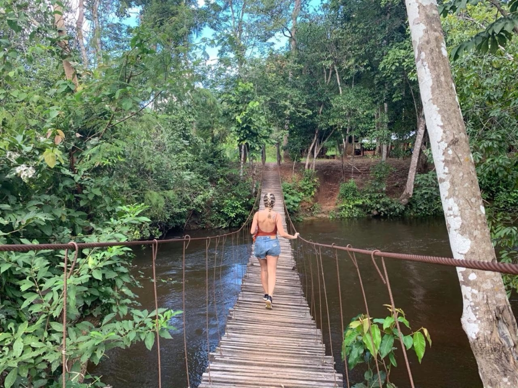 caminho do passeio das 17 travessias nas Serras Gerais