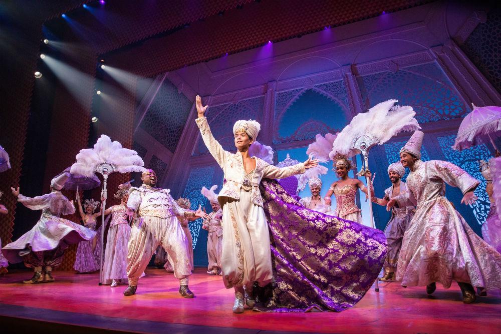 Aladdin musical da Broadway