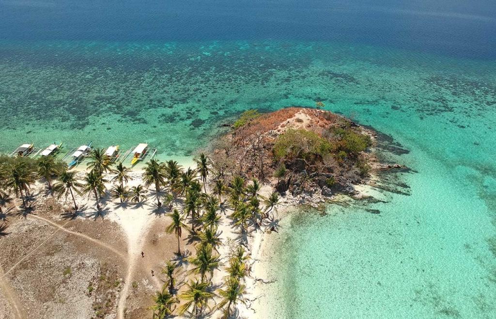 Coron Filipinas vista de drone