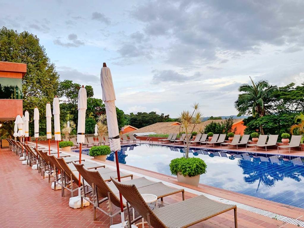 piscina hotel fazenda São Roque