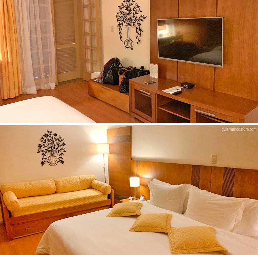 quartos do hotel Villa Rossa