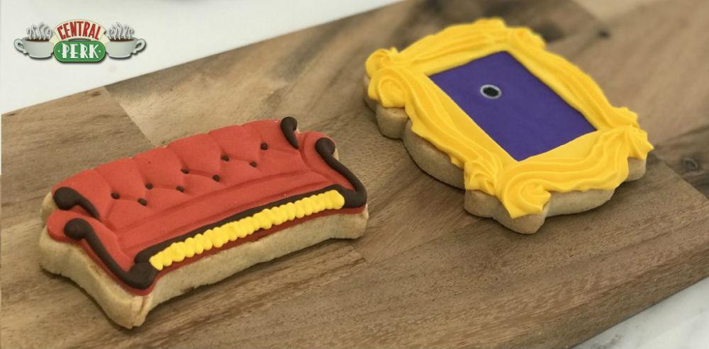 Cookies de Friends no Tour da Warner