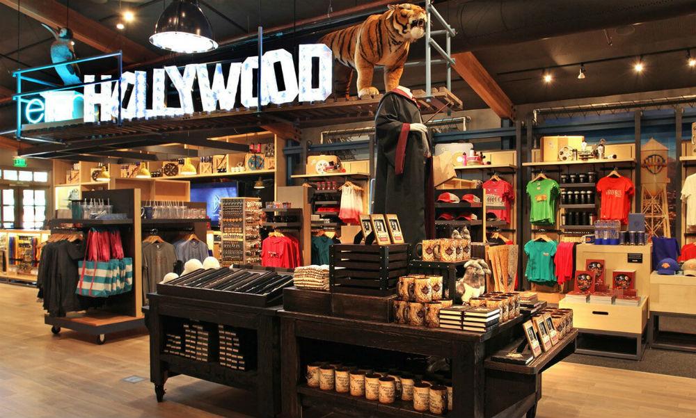Loja da Warner em Los Angeles