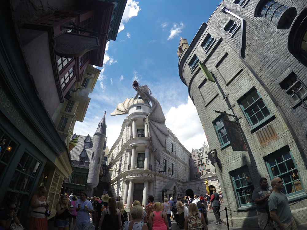 Diagon Alley de Harry Potter na Universal Orlando