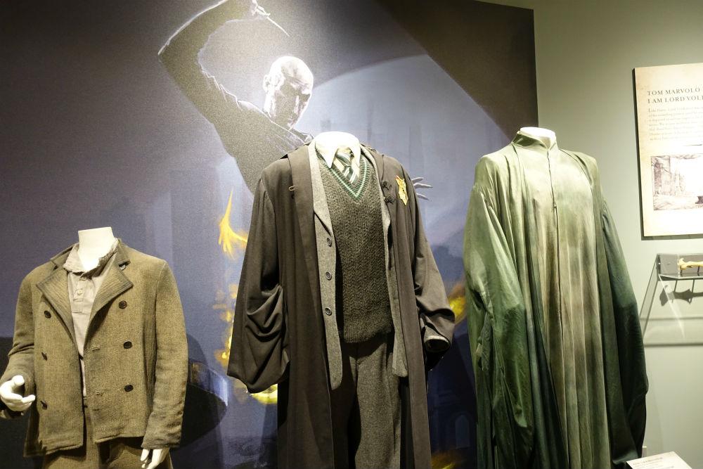 figurinos de Harry Potter