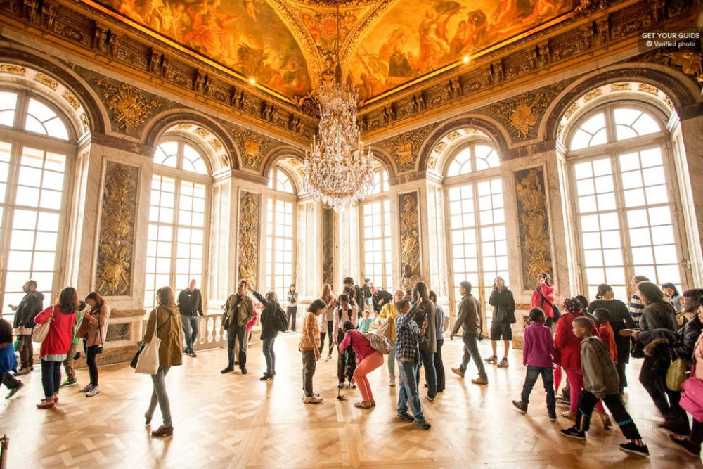 interior do palácio de versailles