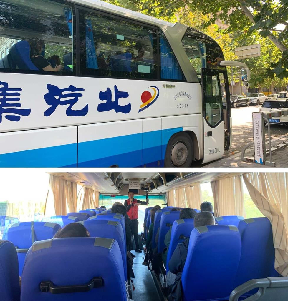 ônibus tour muralha da china
