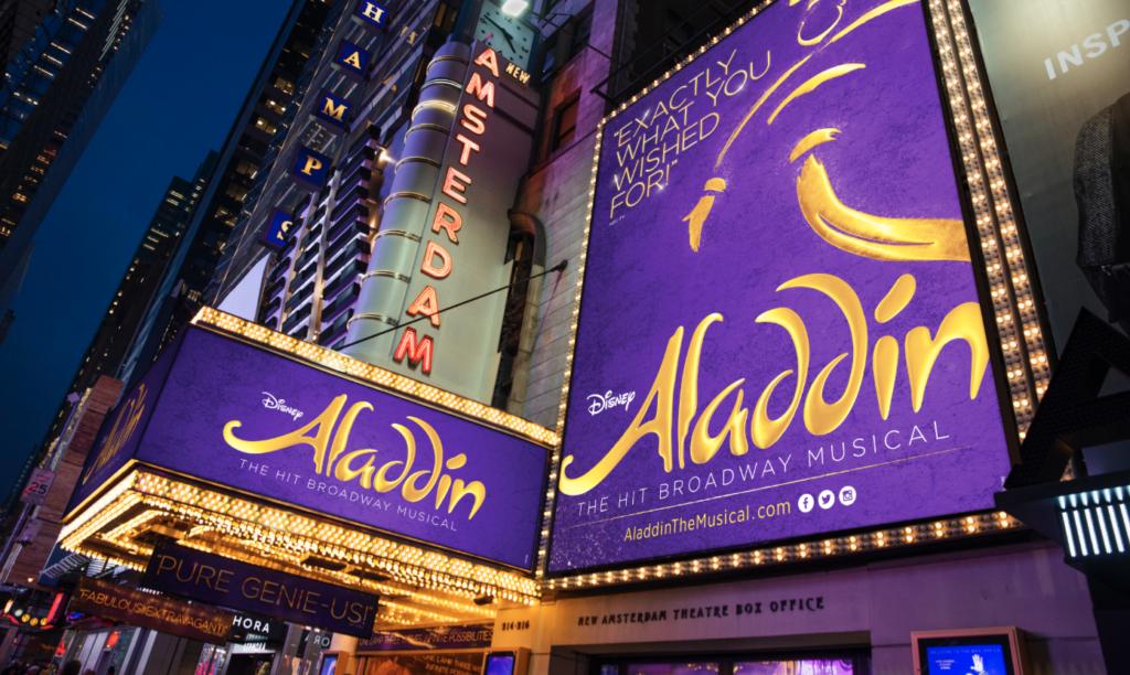 teatro Aladdin Broadway