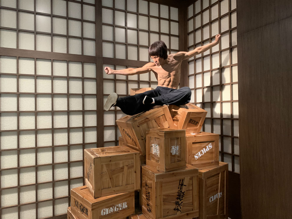 zona do Kung Fu Madame Tussauds
