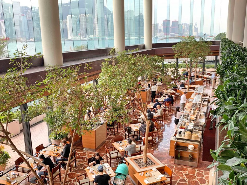 café da manhã Intercontinental Hong Kong