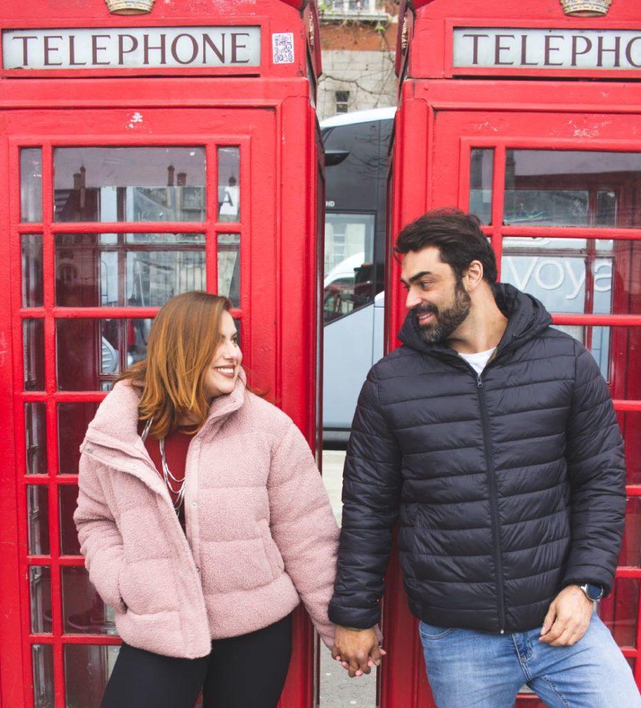cabines telefônicas Londres