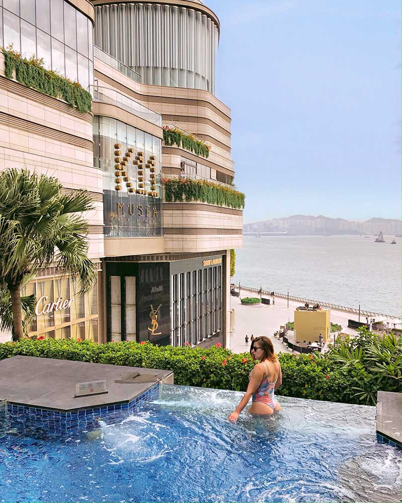 jacuzzi Intercontinental Hong Kong