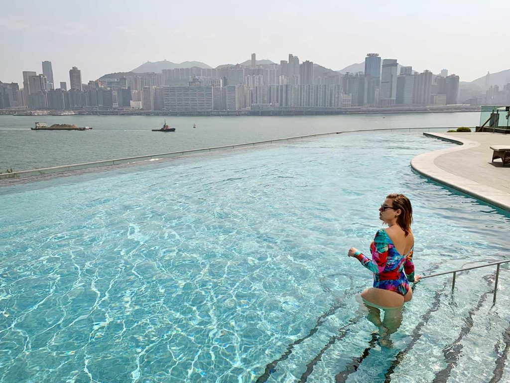 piscina Kerry Hotel Hong Kong