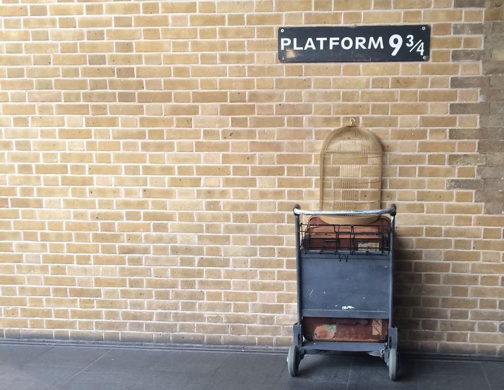 plataforma 9 3/4 em Londres