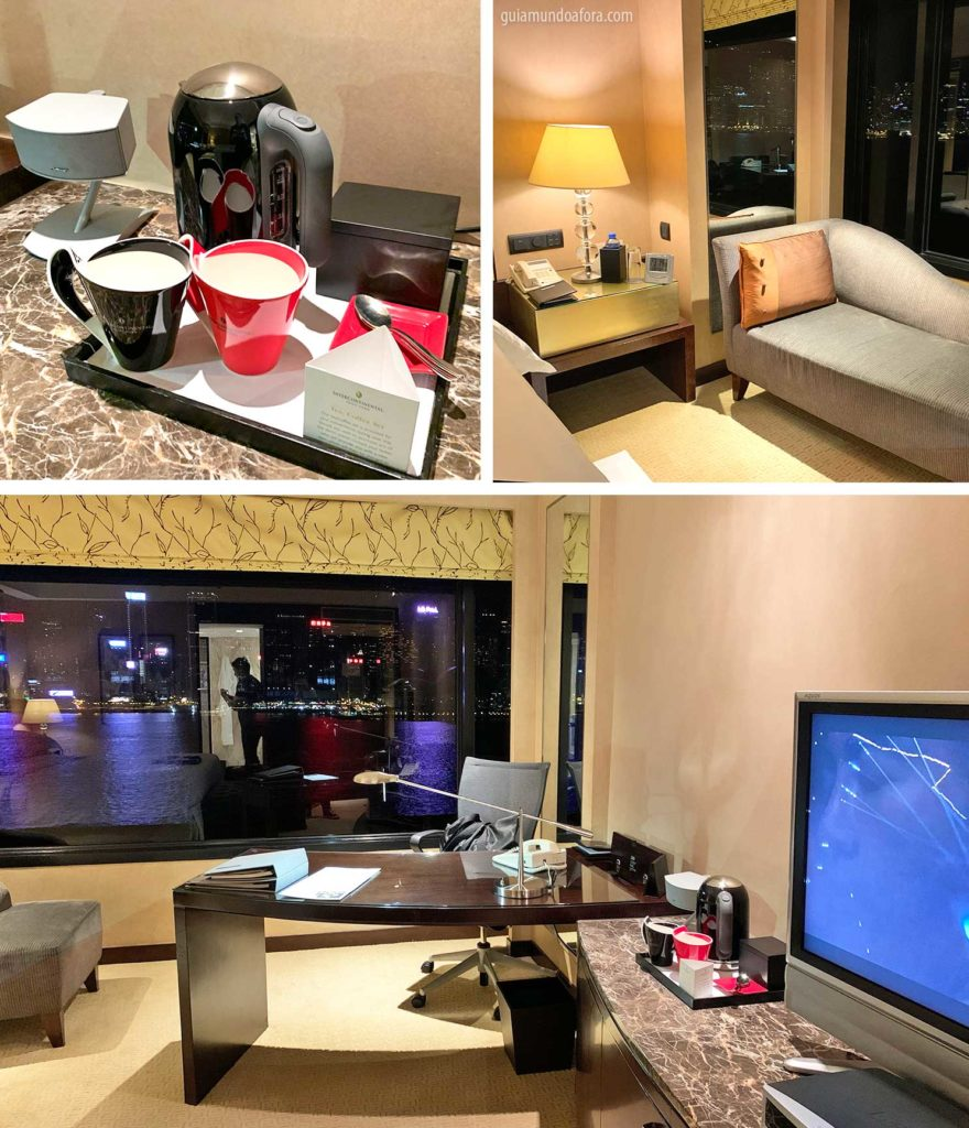 detalhes do quarto intercontinental Hong Kong