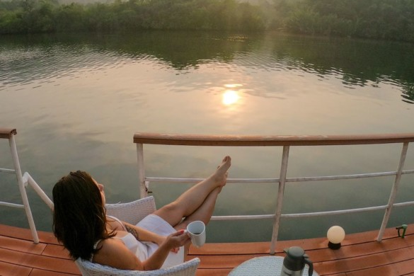 4 Rivers Floating Lodge – o hotel flutuante na selva do Camboja