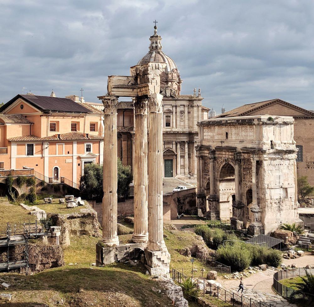Fórum Romano principais atrações de Roma